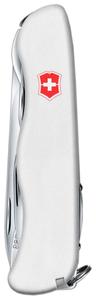 Нож перочинный Victorinox Outrider (0.8513.7R) 111мм 14функций белый карт.коробка