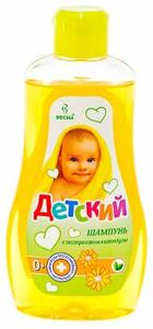 Шампунь детский с экстрактом Календулы 500г Весна