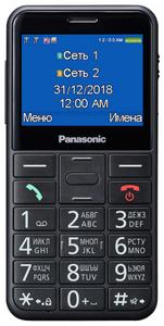 Сотовый телефон Panasonic TU150 черный