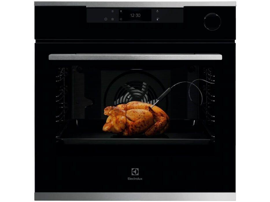 Духовой шкаф Electrolux OKC8H39WX черный