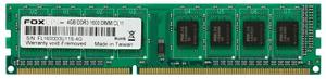 Оперативная память Foxline [FL1600D3U11S-4G] 4 Гб DDR3