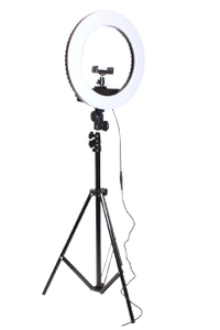 LED Лампа HQ-14 35cm + штатив (Черный)