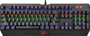 Клавиатура проводная HIPER MK-3 RATE черный