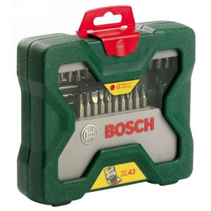 Набор оснастки Bosch X-line 43 2607019613