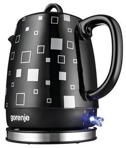 Чайник электрический Gorenje K10BKC черный