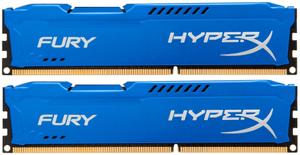 Оперативная память HyperX FURY Blue Series [HX316C10FK2/8] 8 Гб DDR3