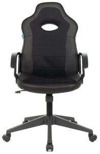Кресло игровое Zombie VIKING-11 черный