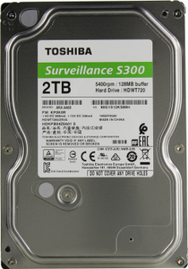 Жесткий диск Toshiba [HDWT720UZSVA] Surveillance S300 2 Тб