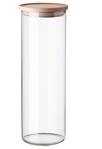 Банка для сыпучих продуктов «Эко», 2,2 л, 10×30,5 см