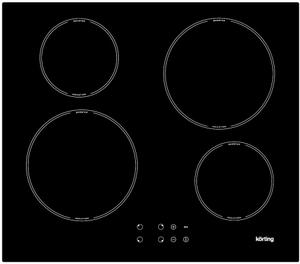 Индукционная варочная поверхность Korting HI 64042 B черный