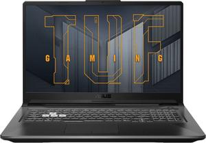 Ноутбук игровой Asus TUF F17 FX706HCB-HX111 (90NR0733-M02430) серый