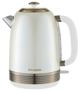 Чайник электрический Hyundai HYK-S4500 белый