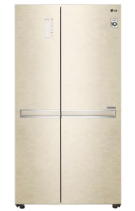 Холодильник LG GC-B247SEDC бежевый