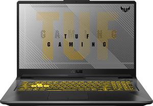 Ноутбук игровой Asus TUF F17 FX706LI-HX175 (90NR03S1-M03980) серый