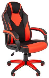 Кресло игровое Chairman game 17 красный