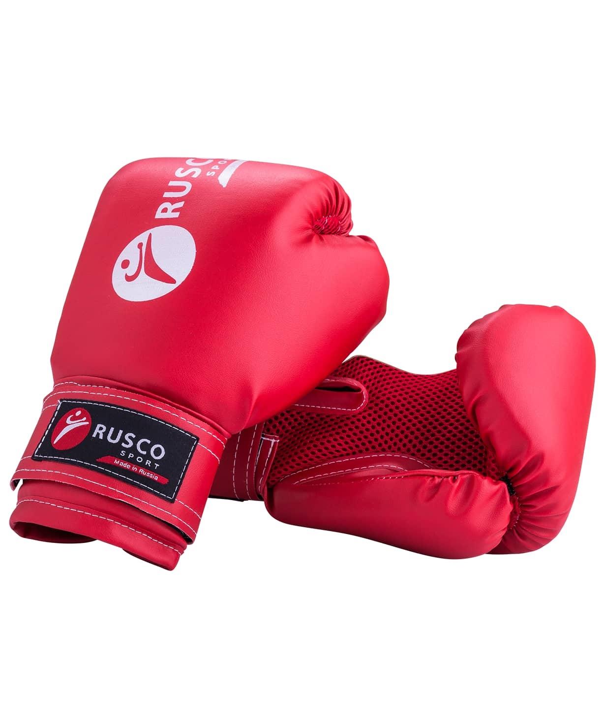 Перчатки боксерские,10oz, к/з, красные