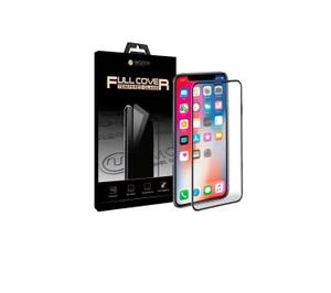 """Стекло защитное MOCOll, полноразмерное для iPhone XR 6.1' 2,5D (Серия """"Storm II"""") Черный"""