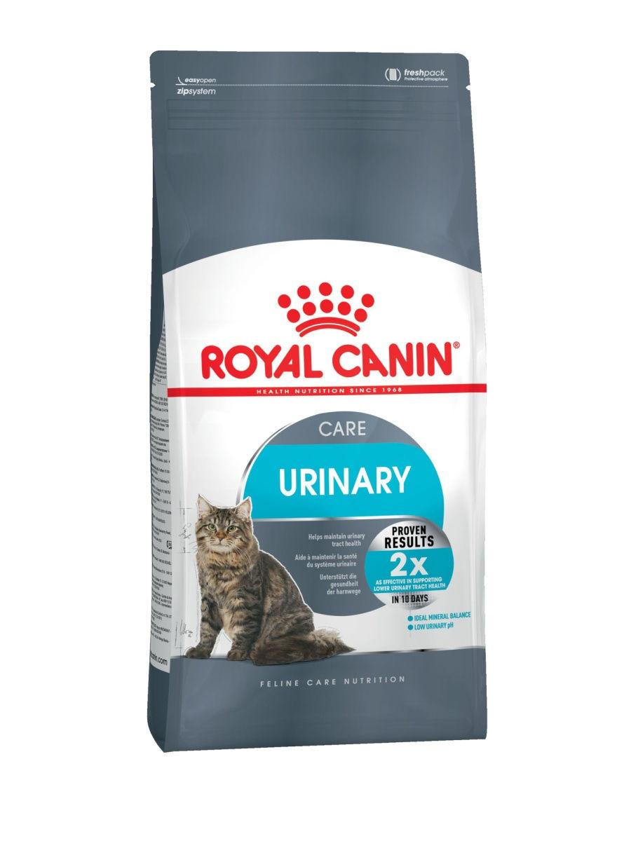 Royal Canin Urinary Care сухой корм для взрослых кошек в целях профилактики МКБ, 2кг