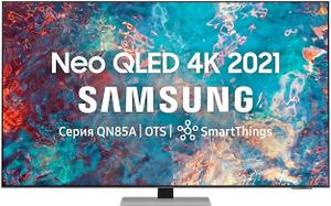 "Телевизор Samsung QE75QN85AAUXRU 75"" (191 см) серый"
