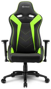 Кресло игровое Sharkoon Elbrus 3 зеленый