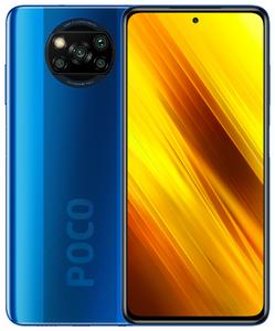 Смартфон POCO X3 NFC 128 Гб синий
