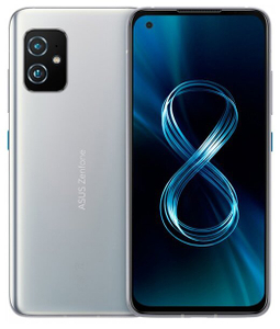 Смартфон Asus Zenfone 8 128 Гб серебристый