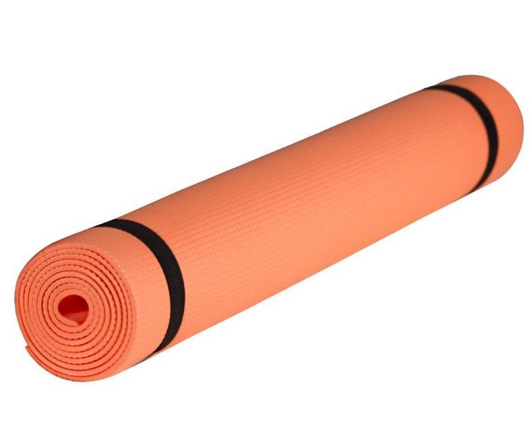 Коврик гимнастический. КВ6106 (Оранжевый)