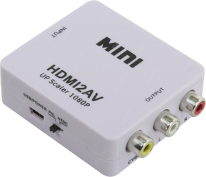 HDMI to AV Converter (HDMI in, RCA out)