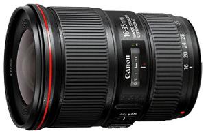 Объектив Canon EF IS USM (9518B005) 16-35мм f/4 черный