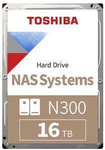 Жесткий диск Toshiba [HDWG31GUZSVA] N300 16 ТБ