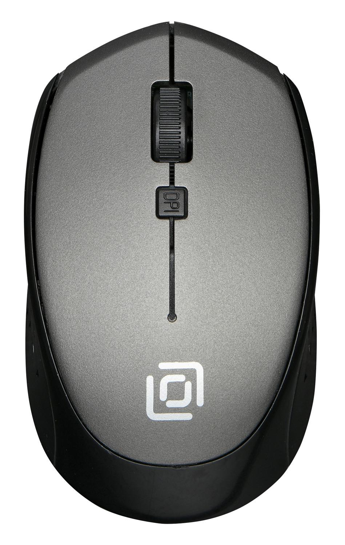 Мышь беспроводная Oklick 488MW серый