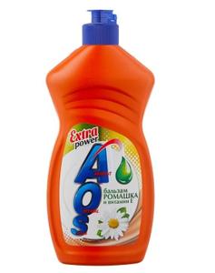 Средство для мытья посуды Бальзам Ромашка витамин Е 450мл AOS