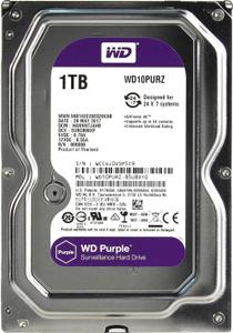 Жесткий диск Western Digital Purple [WD10PURZ] 1 Тб