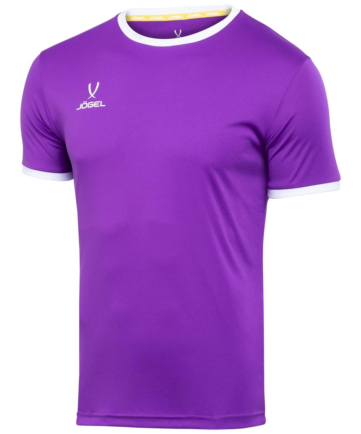 Футболка футбольная CAMP Origin JFT-1020-V1-K, фиолетовый/белый, детская