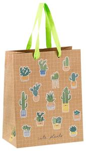 """Пакет подарочный 18*23*10см MESHU """"My garden"""", крафт"""