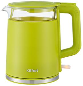 Чайник электрический Kitfort KT-6124-2 салатовый