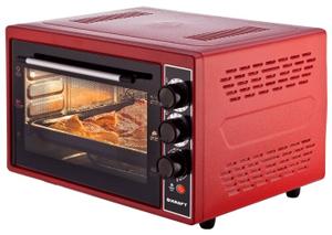 Мини-печь Kraft KF-MO 3804 RKR красный