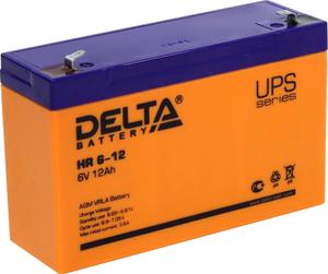 Аккумулятор Delta HR 6-12 (6V, 12Ah) для UPS