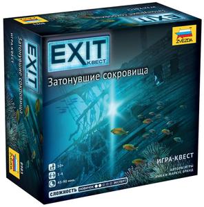 """Игровой набор Zvezda """"EXIT Квест. Затонувшие сокровища"""""""