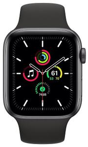 Смарт-часы Apple Watch SE 44mm MKQ63RU/A черный
