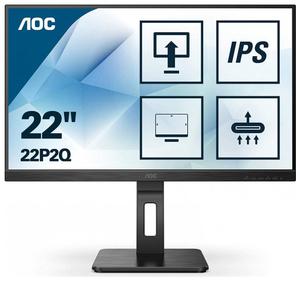 "Монитор AOC Pro [22P2Q] 21,5"" черный"