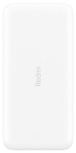 Портативное ЗУ Xiaomi Redmi 20000 mAh белый