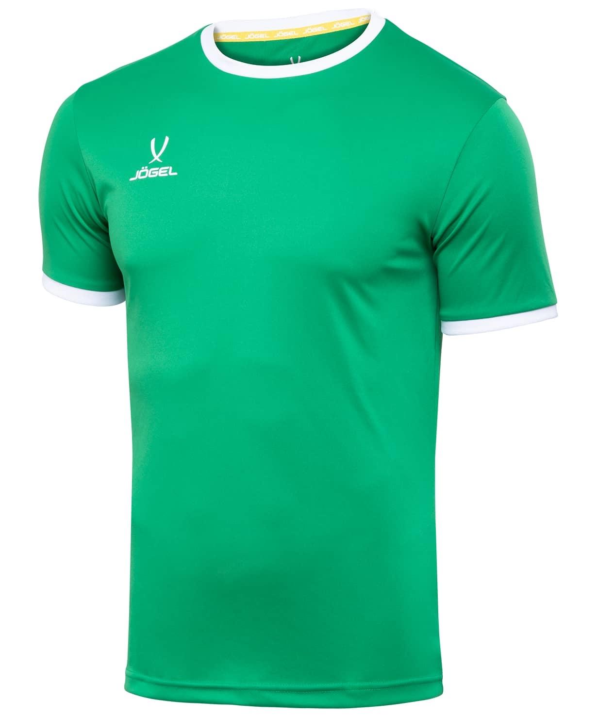 Футболка футбольная CAMP Origin JFT-1020-031, зеленый/белый