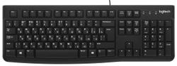 Клавиатура проводная Logitech K120 черный