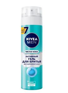 Гель для бритья Чистая кожа 200мл Nivea