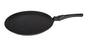 Сковорода-лавашница Кукмара 350мм,со съемной ручкой,АП (темный мрамор)