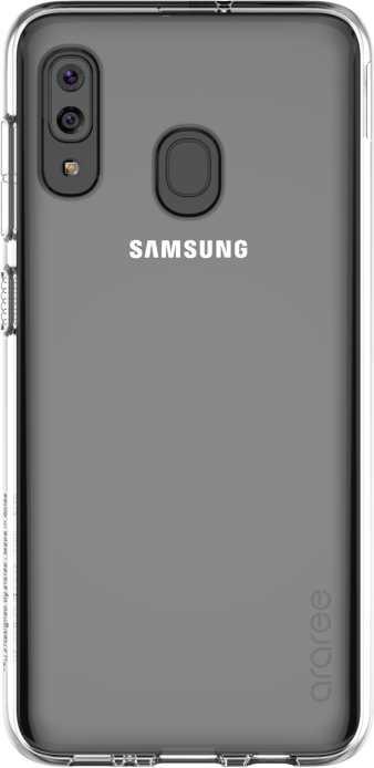 Чехол Samsung для  Galaxy A20 araree прозрачный