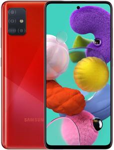 Смартфон Samsung Galaxy A51 128 Гб красный