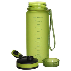 Бутылка UZSPACE Colorful Frosted 3030 0.65 л green