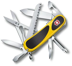 Нож перочинный Victorinox EvoGrip S18 (2.4913.SC8) 85мм 15функций желтый/черный карт.коробка
